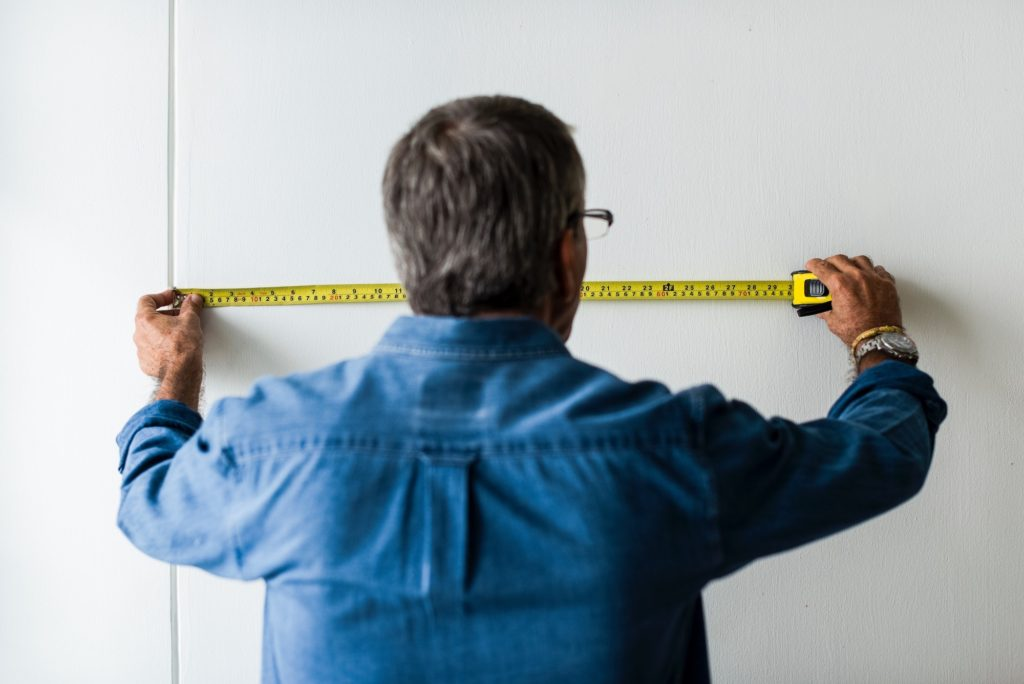 measure your space for cabinet installation