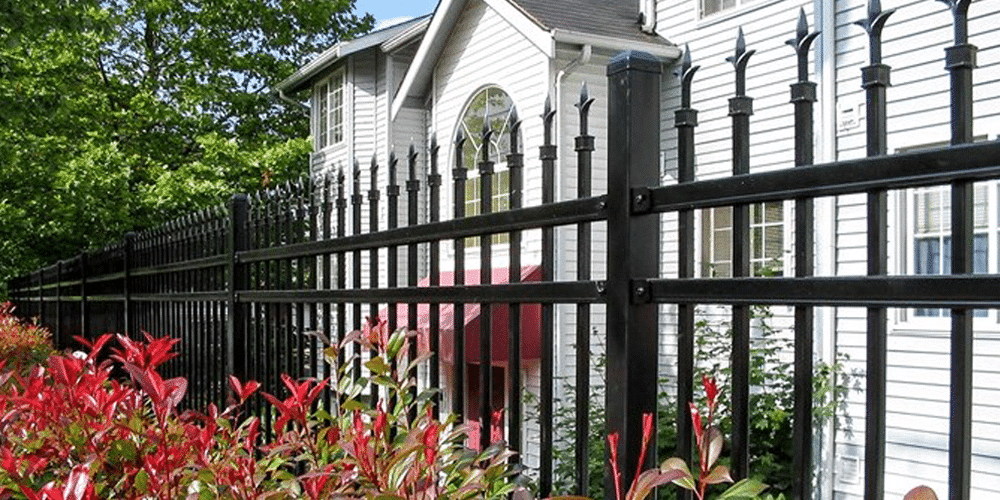 steel fence material