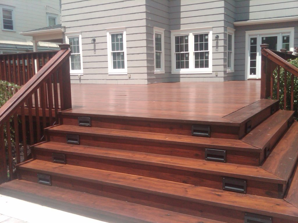 how to build a deck for a house