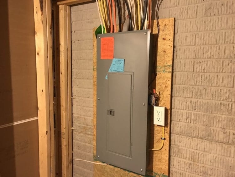 electrical panel not grounded what to do