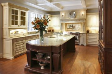 kitchen island with gfci outlets